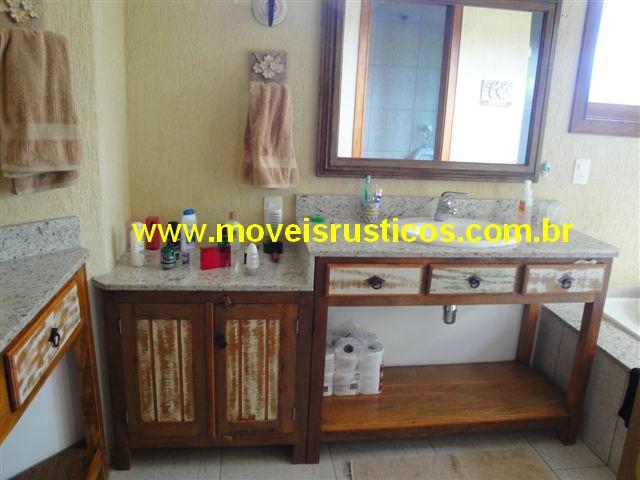 Marcantonio Móveis Rústicos -> Armario Banheiro Rustico